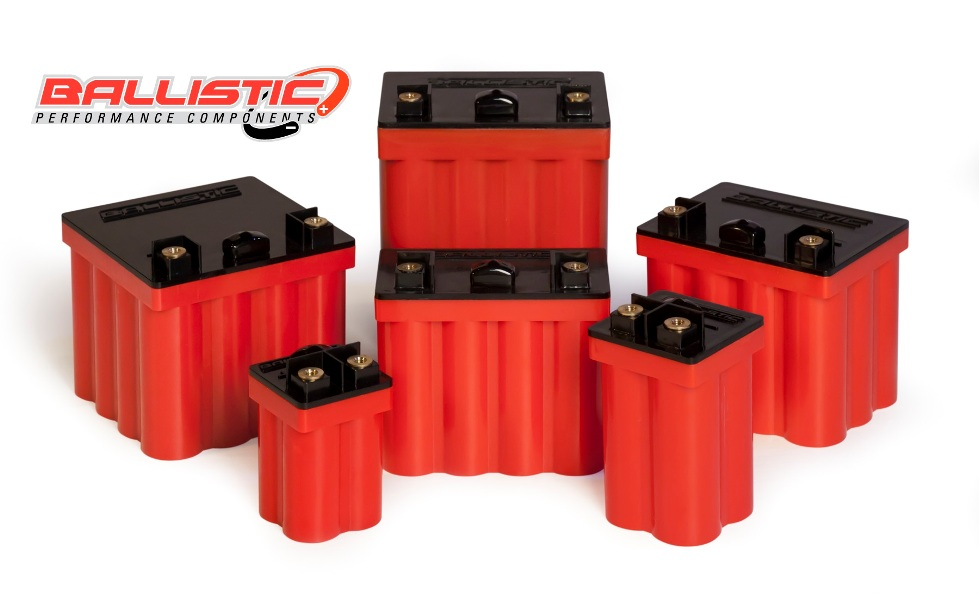 The Ballistic EVO2 Performance Batteries Lineup