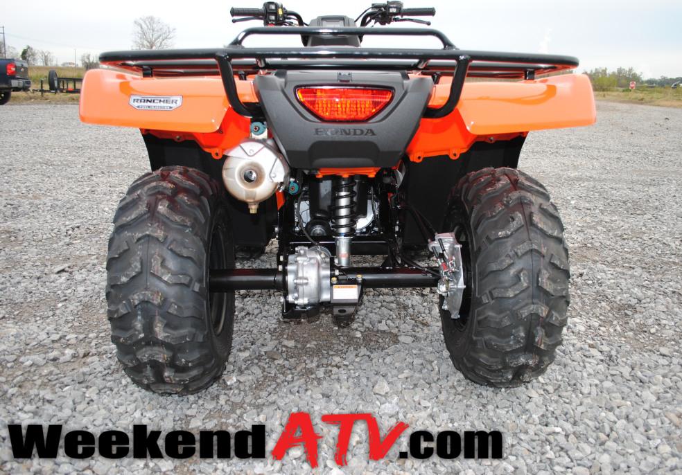 Honda Rancher For Sale >> REVIEW: 2014 Honda Rancher 4x4 Automatic DCT - WeekendATV.com